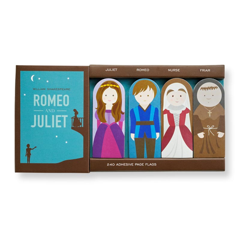 Literary Page Flags - Romeo and Juliet