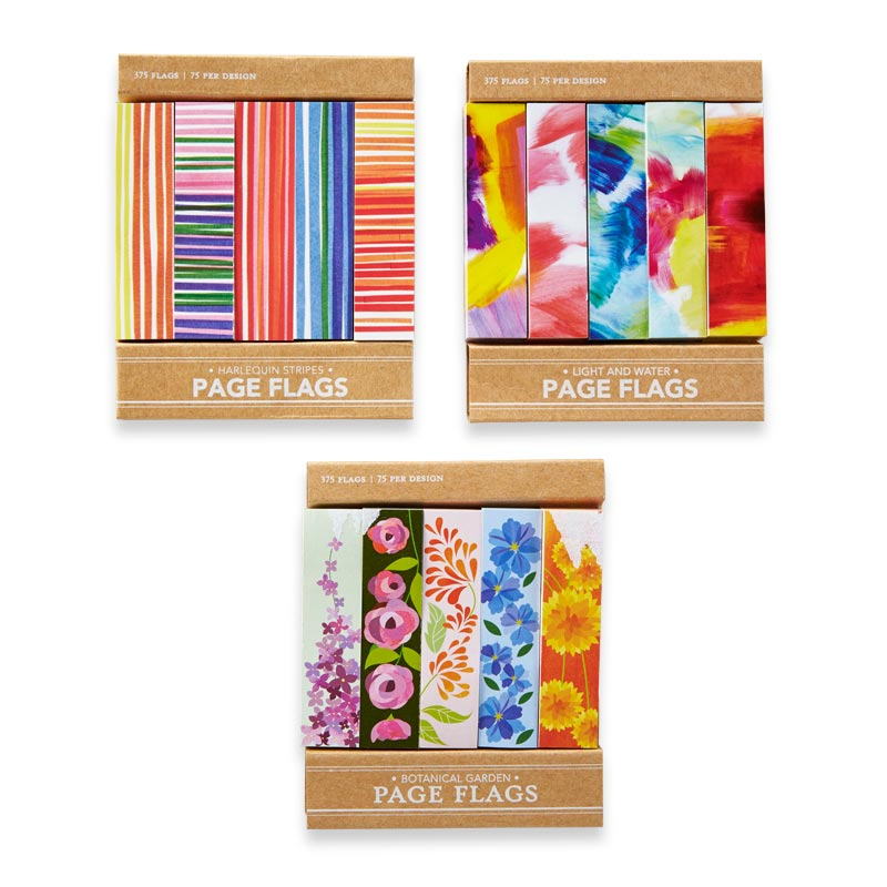 Sanibel Page Flags (set of 3)