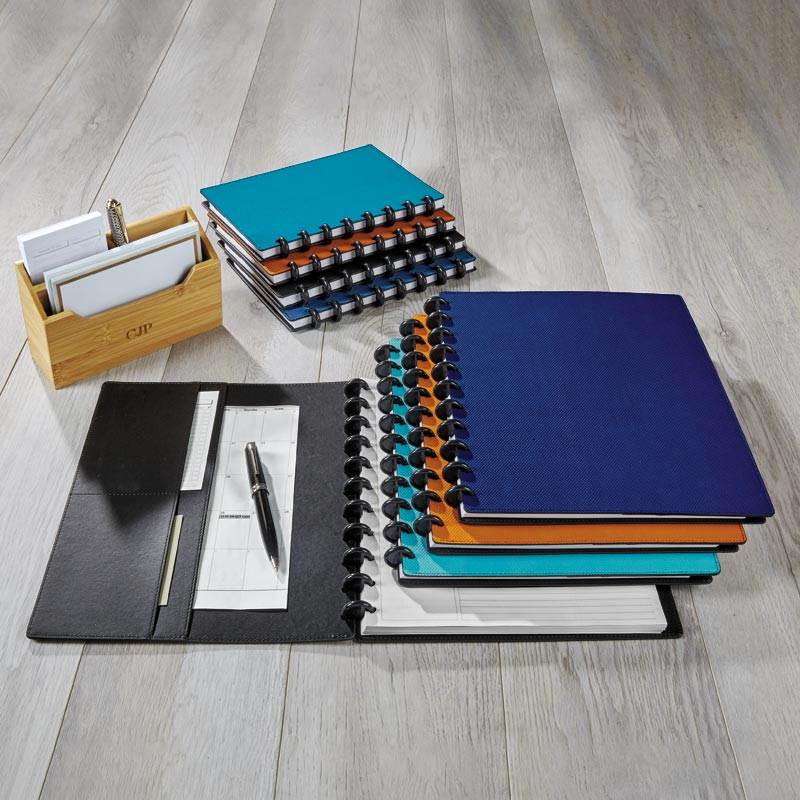 Circa® Impressions Sliver Notebook with Pockets