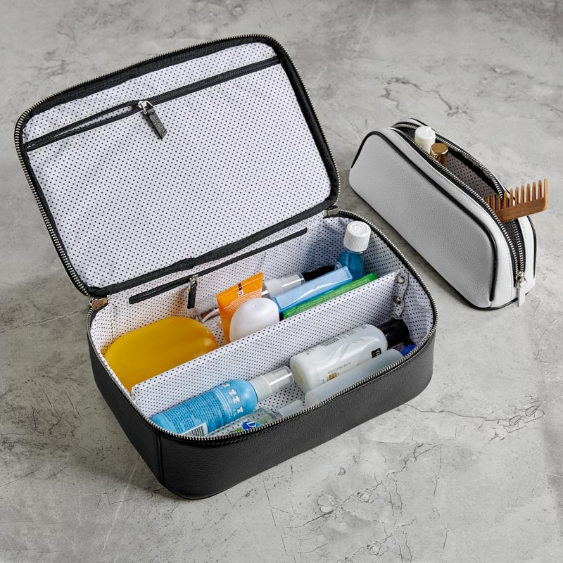 Classic Contrast Duo Travel Case