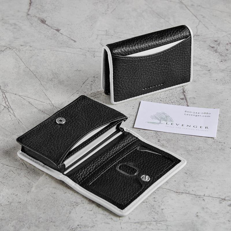 Classic Contrast Card Wallet