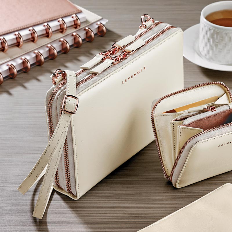 Carrie Convertible Clutch & Carrie Coin and Card Wallet