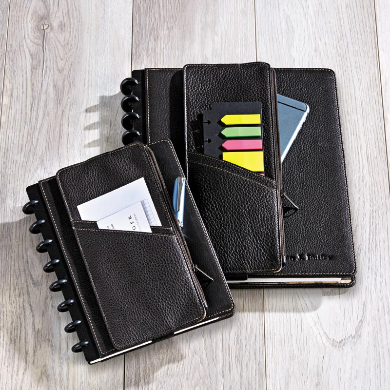 Bomber Zip Pocket Notebook Belt