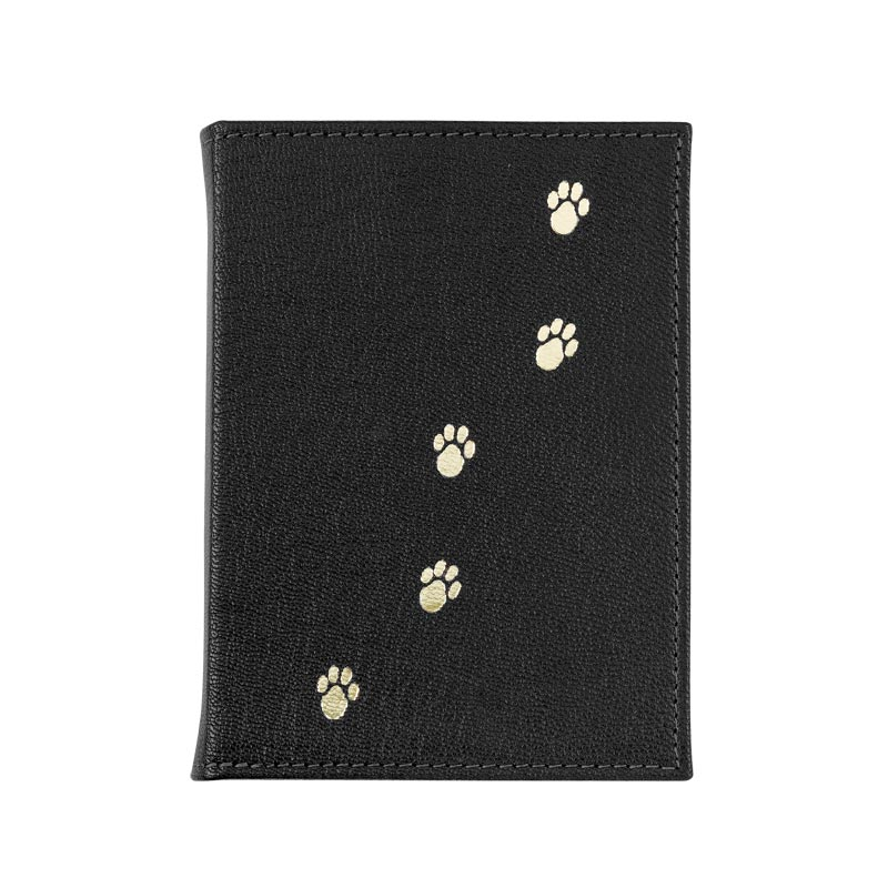 Black Leather Pet Brag Book