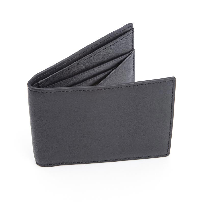 RFID Blocking Leather 100 Step Wallet