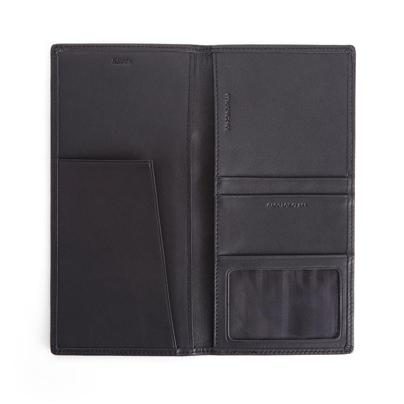 Leather RFID Passport Ticket Holder