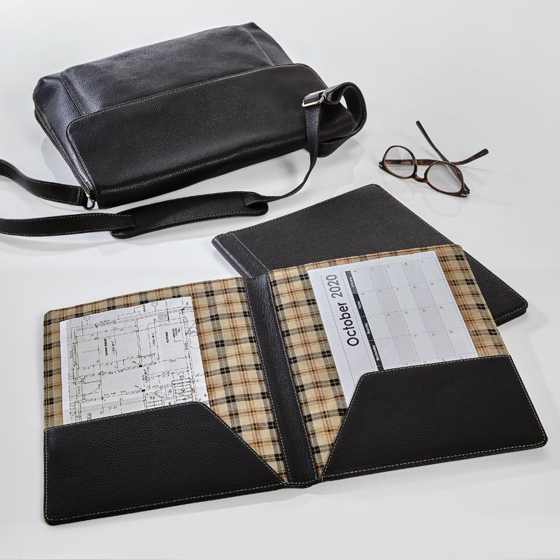 Bomber Jacket 2-Pocket Folio