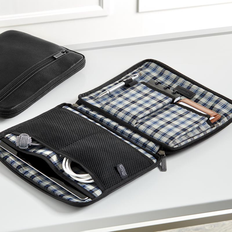 Bomber Jacket Tablet and Tech Holder