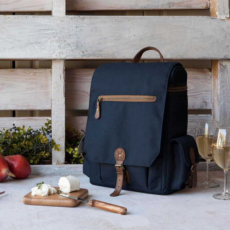 Moreno Canvas Backpack Wine Tote