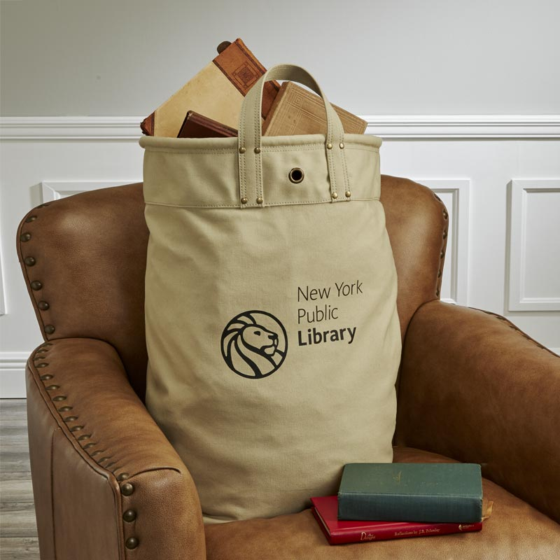 New York Public Library Delivery Tote Bag