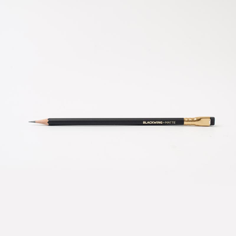Palomino Blackwing Soft Pencils with Black Eraser (set of 12)