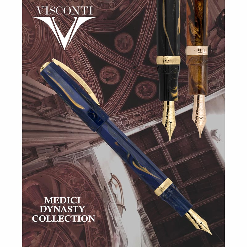 Visconti Medici Fountain Pen