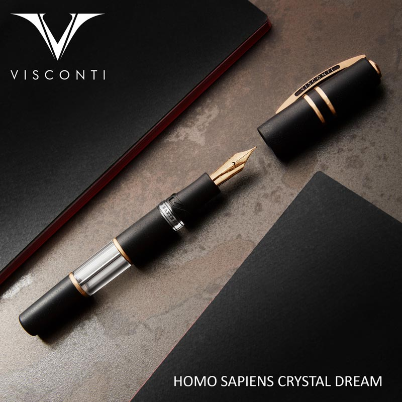 Visconti Homo Sapiens Crystal Dream Fountain Pen