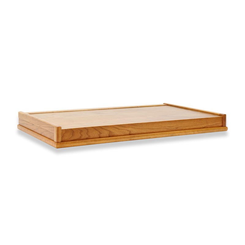 Lateral File Crown - Natural Cherry