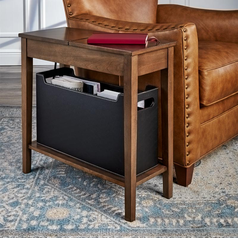 Tech Enhanced No-Room-for-a-Table™ Table with Basket