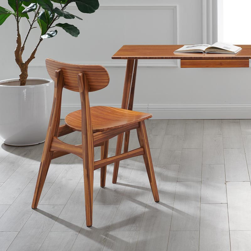 Wright Bamboo Desk Chair