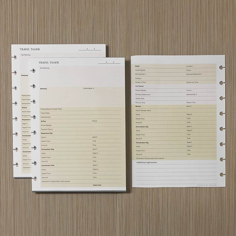 Circa SmartPlanner Trave Tamer (set of 2)