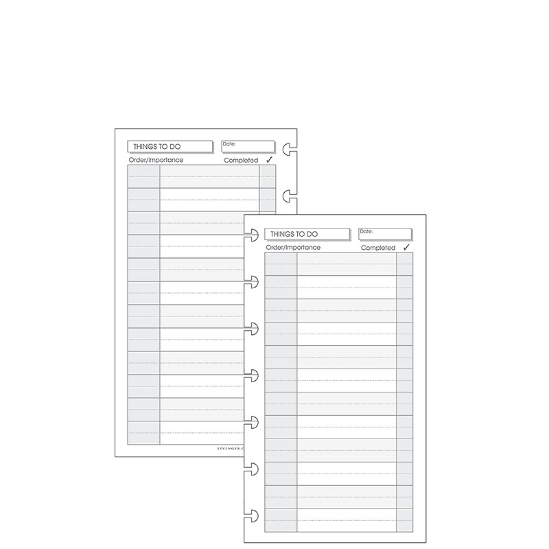 Special Request™ Things to Do (100 sheets), Circa Compact