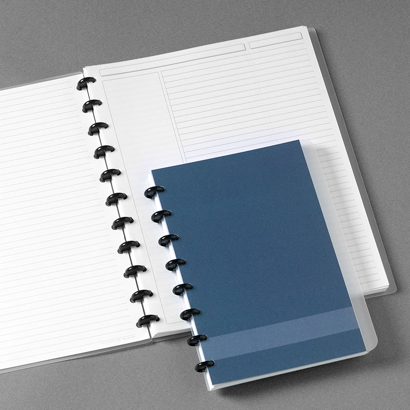 Slate Circa® Personalized Notebook, Annotation Ruled