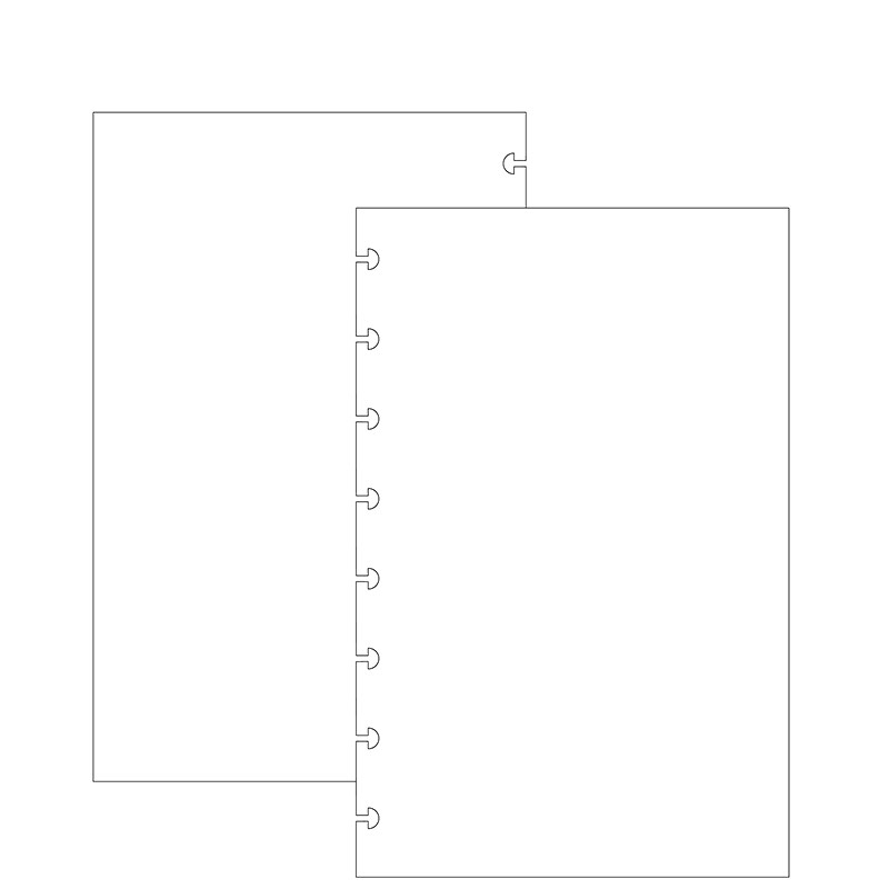Special Request™ Blank (100 sheets), Circa Junior