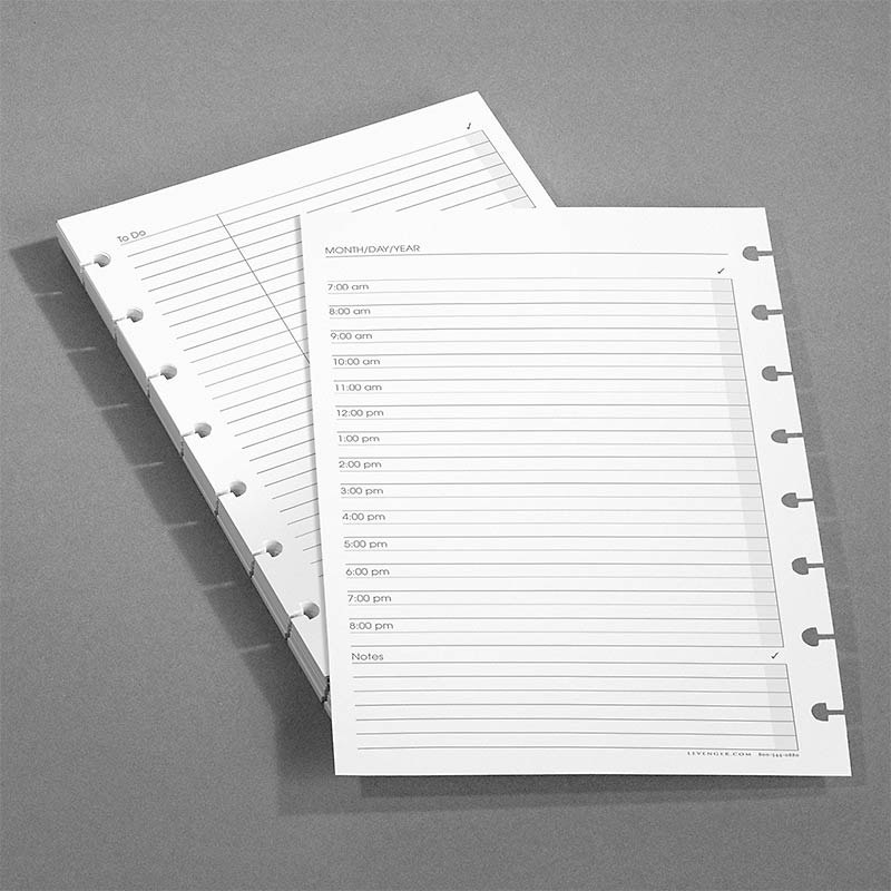 Special Request™ Circa Undated Daily Planner Refill, Junior