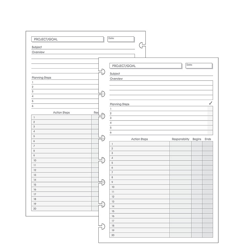 Special Request Project Planner  Sheets Circa Junior  Circa