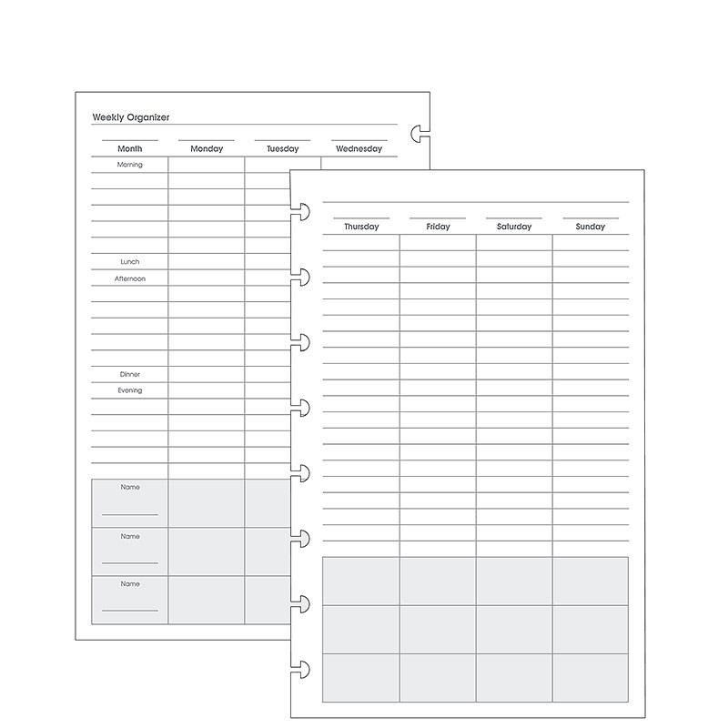 Special Request™ Multitask Organizer (100 sheets), Circa Junior