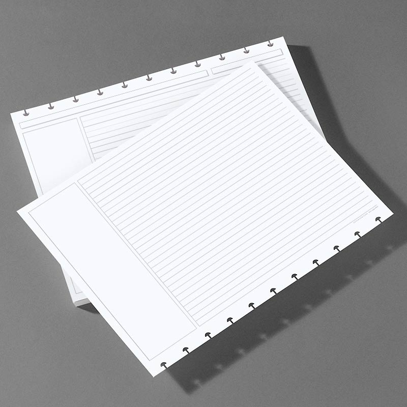 Special Request™ Circa Horizontal Annotation Ruled Refill, Letter