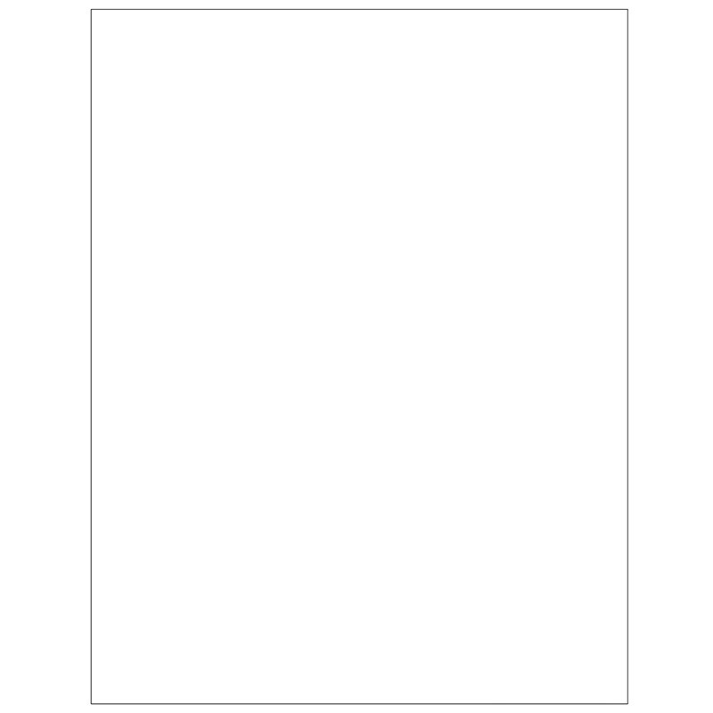 special request blank 100 sheets unpunched letter circa