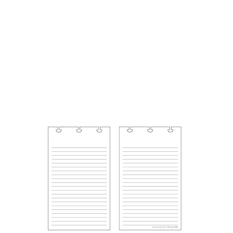 Special Request™ Full-Page Ruled (100 cards), Circa PDA