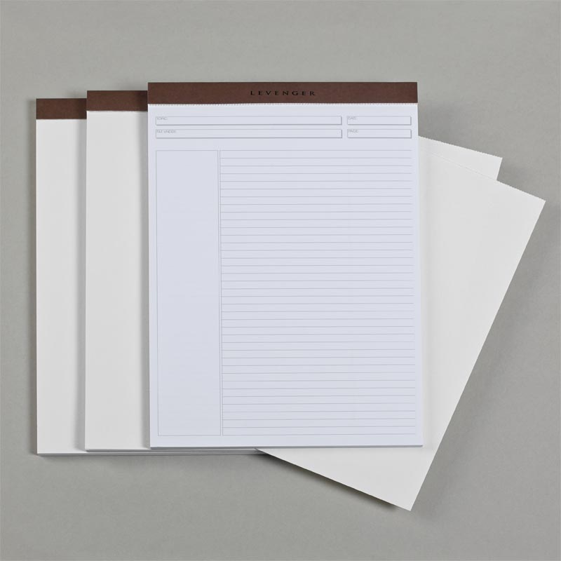 Inklings Freeleaf Pads With Blotter Paper Letter Set Of 3