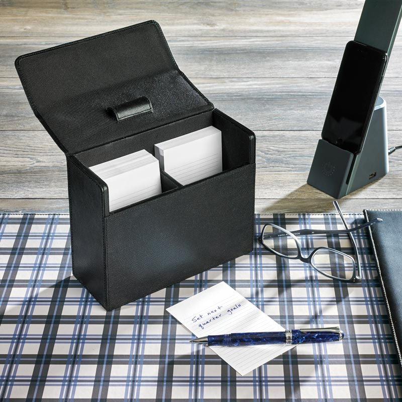 Metropolitan Note Card Box with 300 Nonpersonalized 3 x 5 Cards
