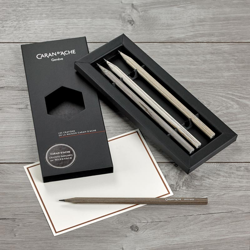 Caran D'Ache Special Edition Scented Pencils (set of 4)