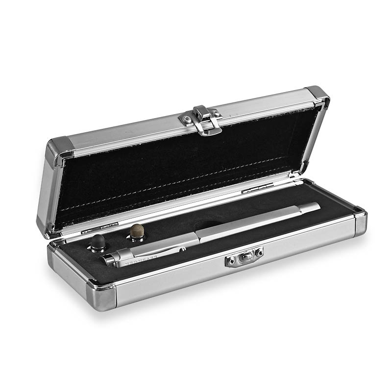 L-Tech 3.0 Rollerball, Chrome w/ Durable Metal Storage Box