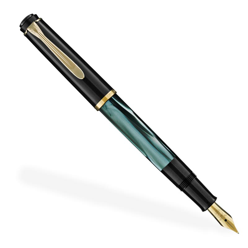 Pelikan Classic 200 Green Marble Fountain Pen