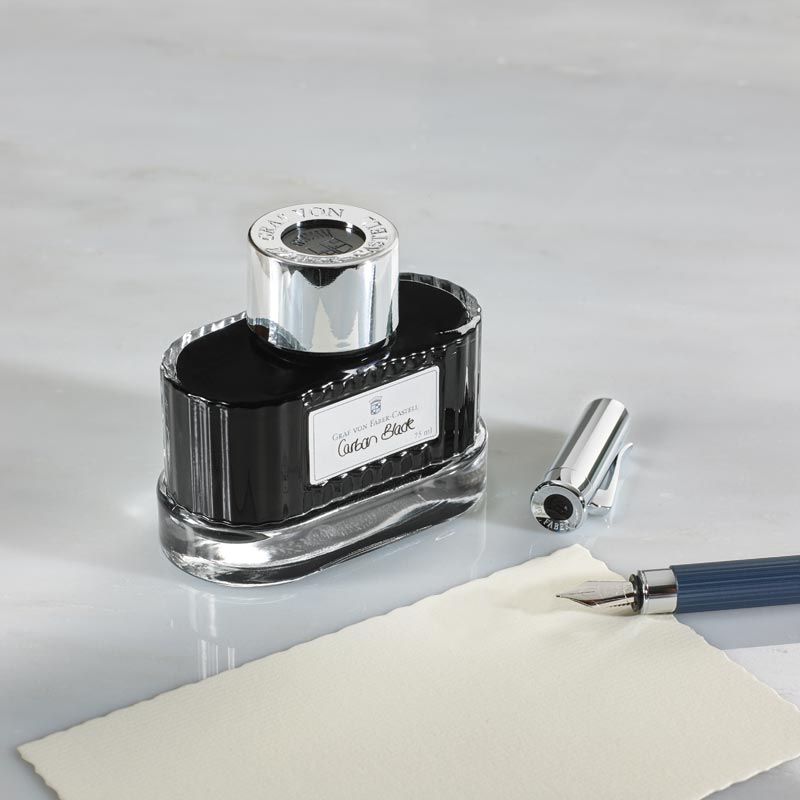 Graf Von Faber-Castell Document-Proof Bottled Ink, Black