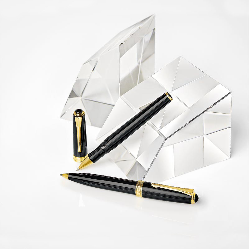 True Writer Classic Obsidian Gold Rollerball